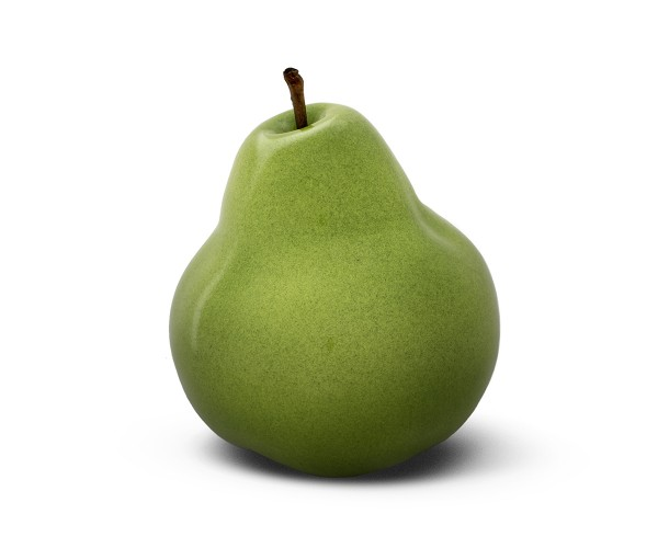 pear - medium plus - green - ceramic - outdoor non frostproof