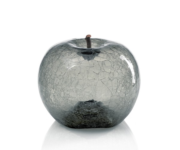 apple - medium plus sixpack - zirconium glass - crackled glass - outdoor non frostproof