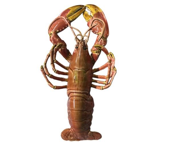 lobster - giant - rose - ceramic - indoor