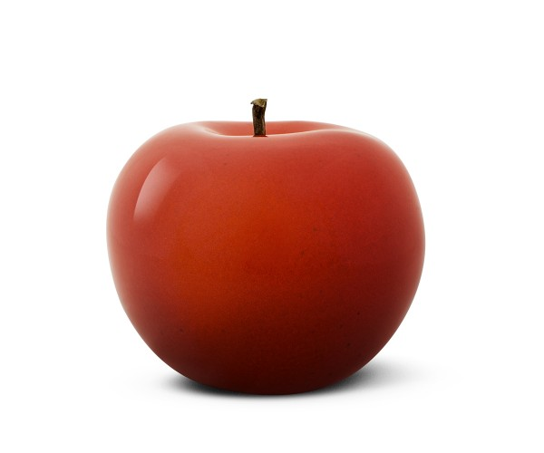 apple - giant - red - ceramic - outdoor non frostproof