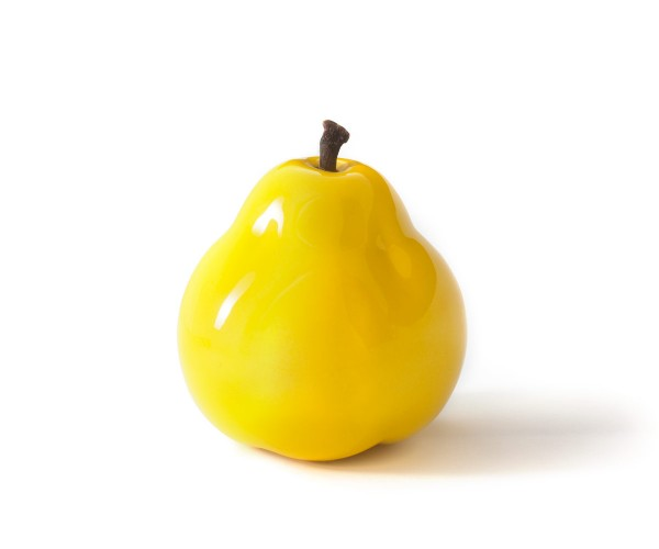 pear - double giant - yellow - fibre-resin - outdoor frostproof