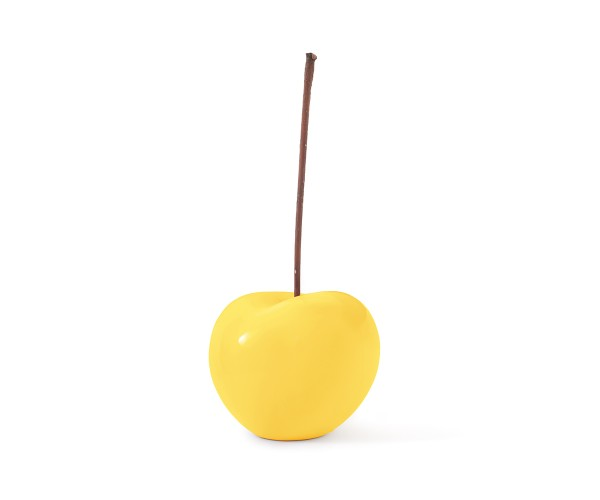 cherry - large - yellow - ceramic - outdoor non frostproof