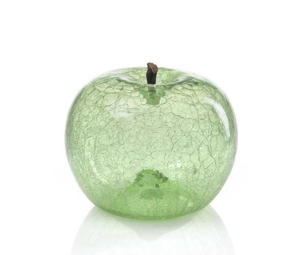 apple - extra - emerald glass - crackled glass - outdoor non frostproof