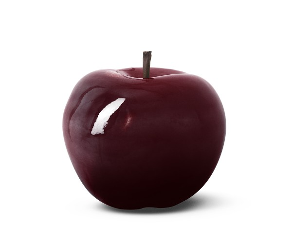 apple - medium plus - bordeaux - porcelain - outdoor non frostproof